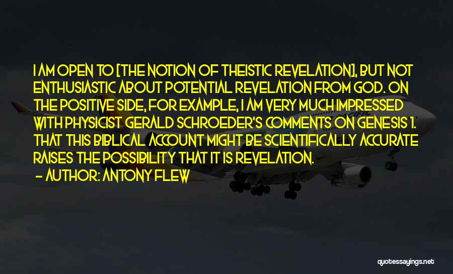 God Is 1 Quotes By Antony Flew