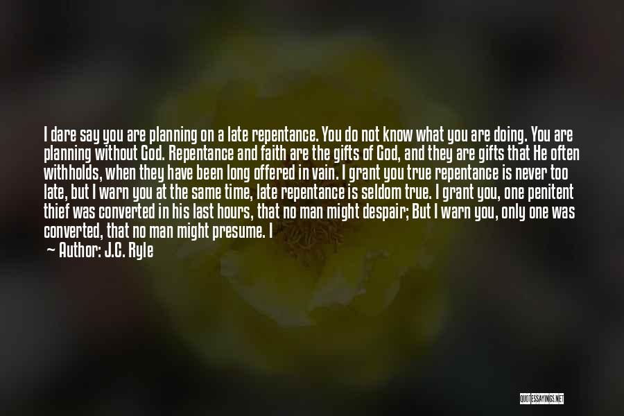 God Is 1 Quotes By J.C. Ryle
