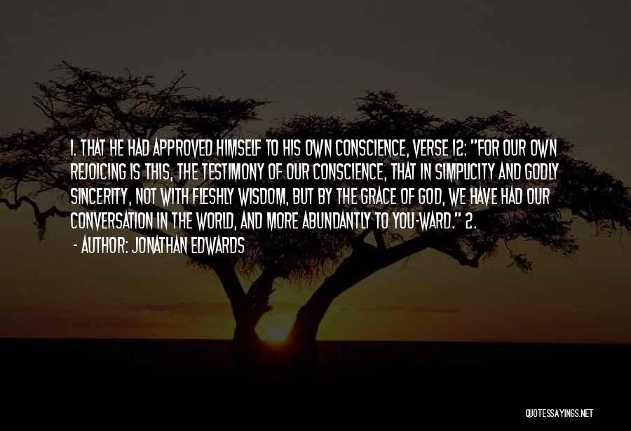 God Is 1 Quotes By Jonathan Edwards