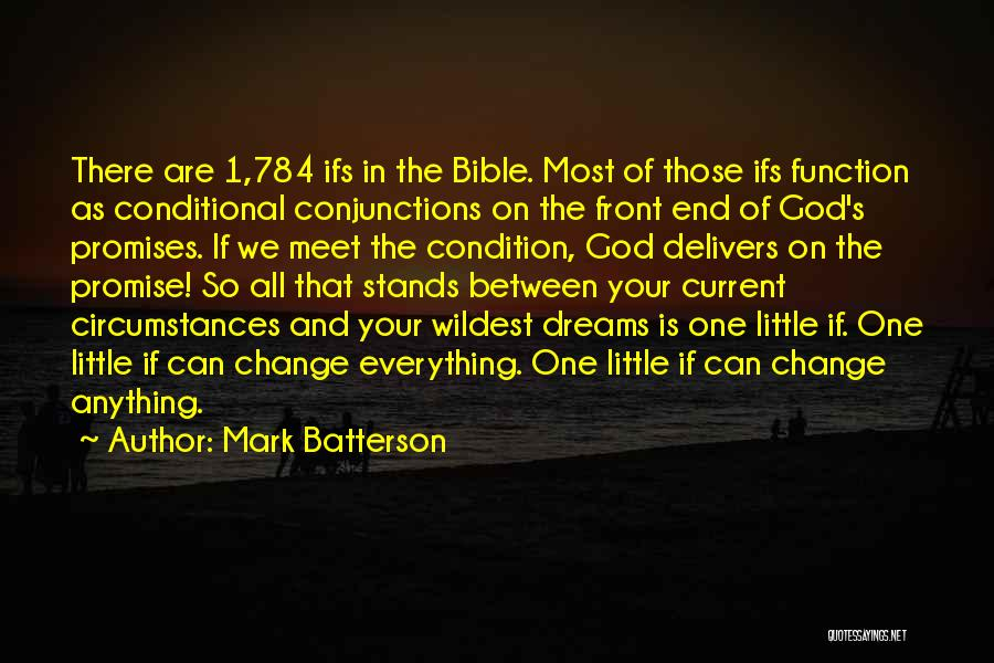 God Is 1 Quotes By Mark Batterson