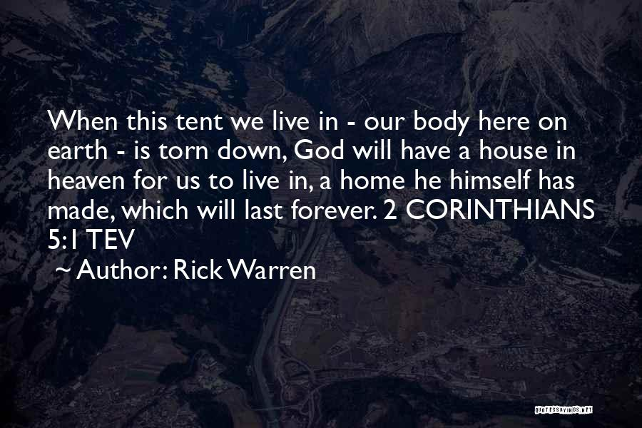 God Is 1 Quotes By Rick Warren