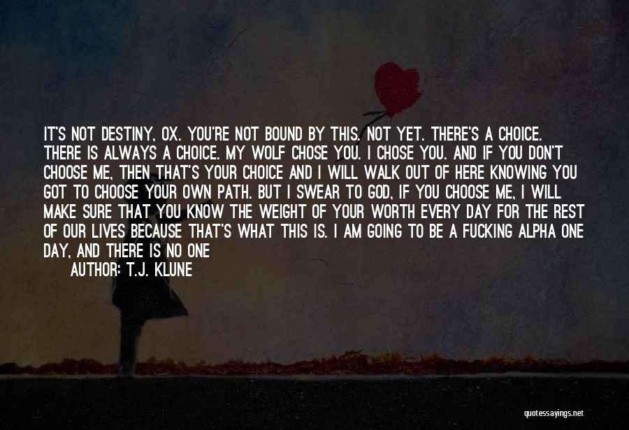 God Is Always By Your Side Quotes By T.J. Klune