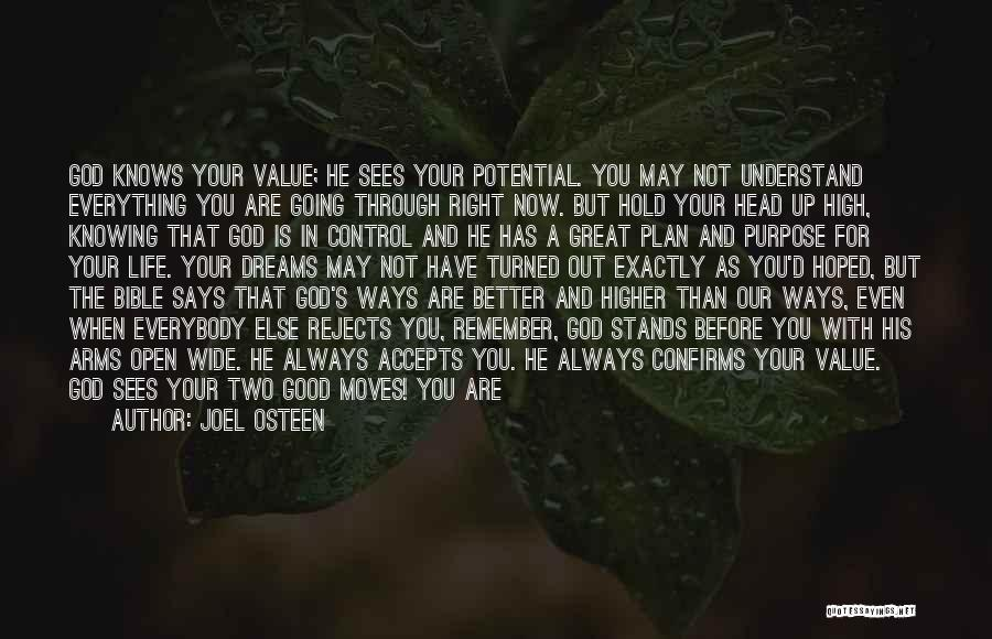 God Is Always With You Quotes By Joel Osteen