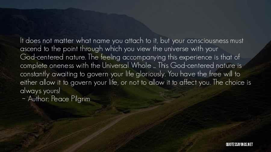 God Is Always With You Quotes By Peace Pilgrim