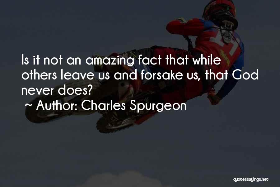God Is An Amazing God Quotes By Charles Spurgeon