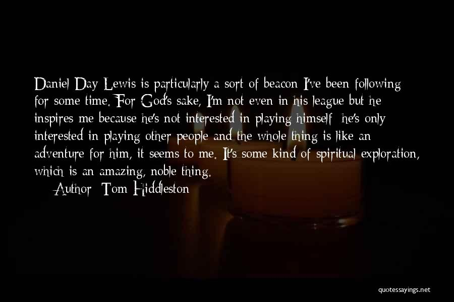 God Is An Amazing God Quotes By Tom Hiddleston