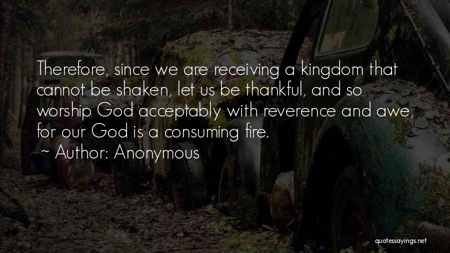 God Is For Us Quotes By Anonymous
