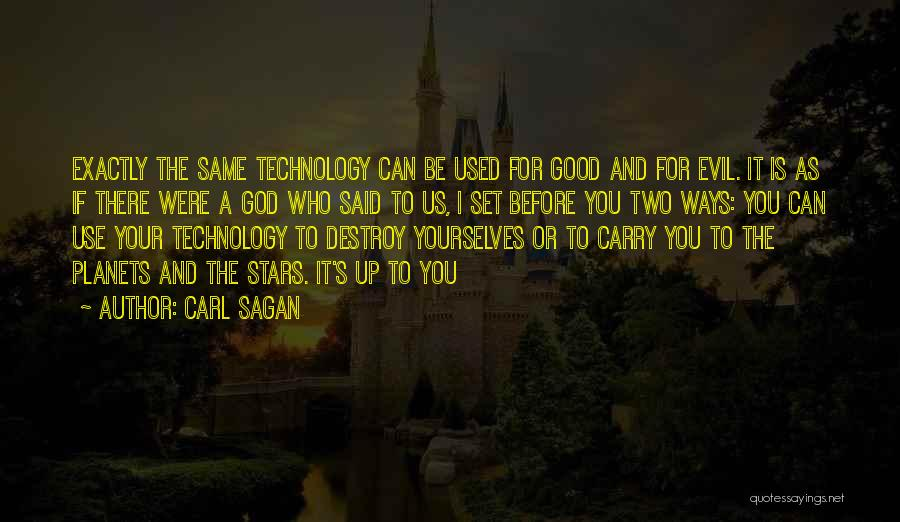 God Is For Us Quotes By Carl Sagan