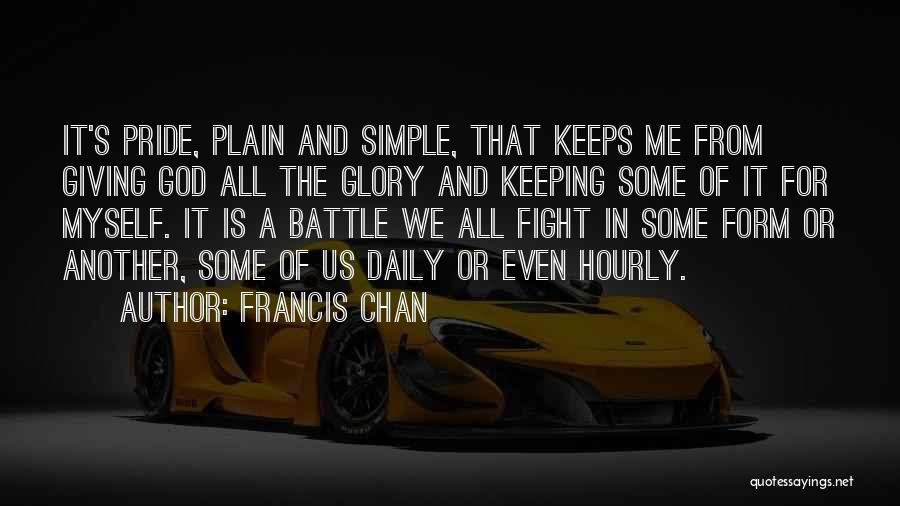 God Is For Us Quotes By Francis Chan