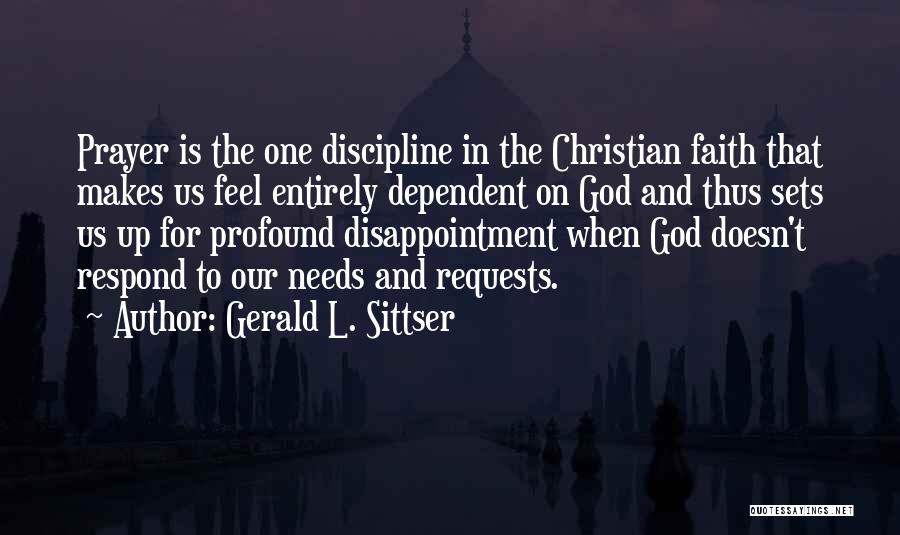 God Is For Us Quotes By Gerald L. Sittser
