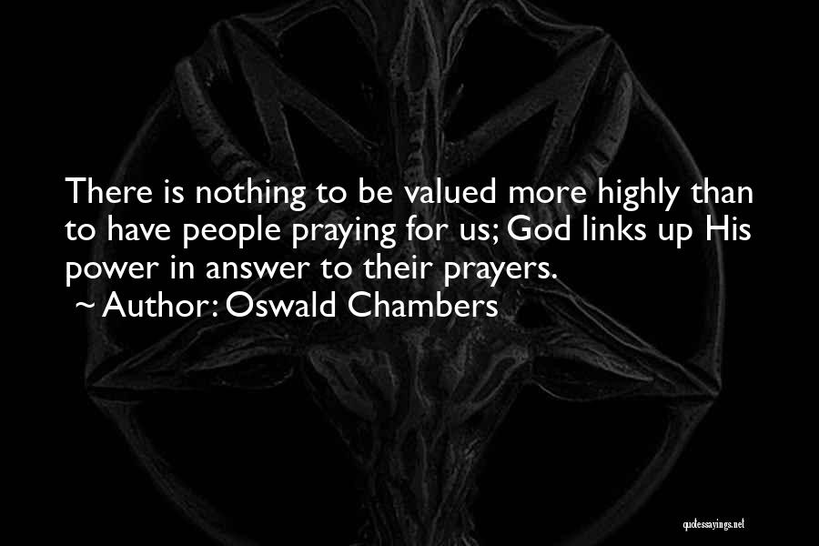God Is For Us Quotes By Oswald Chambers