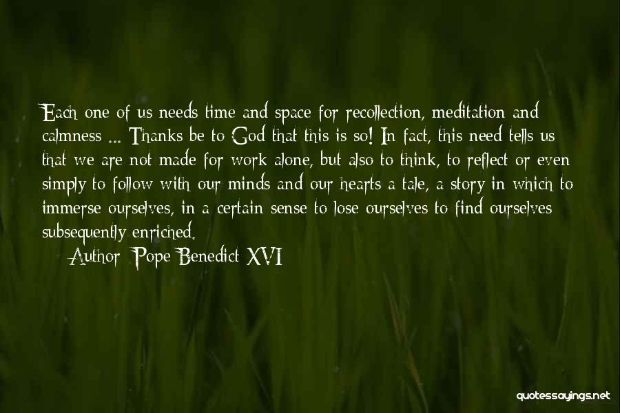God Is For Us Quotes By Pope Benedict XVI