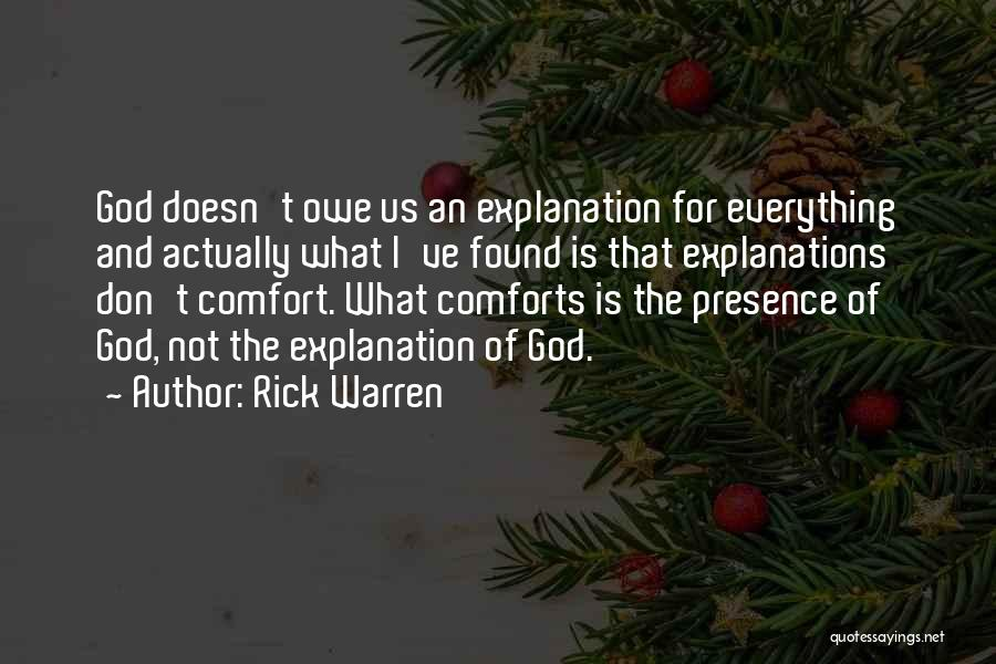 God Is For Us Quotes By Rick Warren