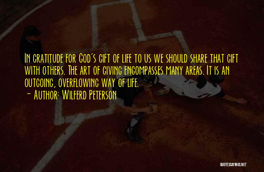God Is For Us Quotes By Wilferd Peterson