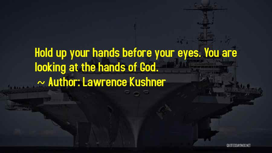 God Is Looking Out For Me Quotes By Lawrence Kushner