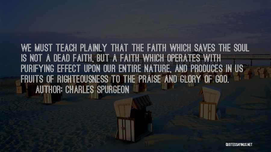 God Is Not Dead Quotes By Charles Spurgeon
