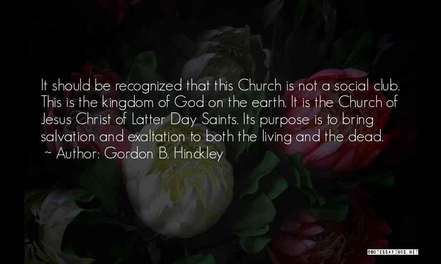 God Is Not Dead Quotes By Gordon B. Hinckley