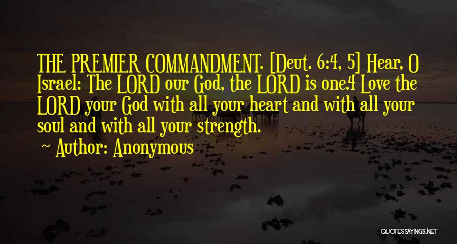 God Is Strength Quotes By Anonymous