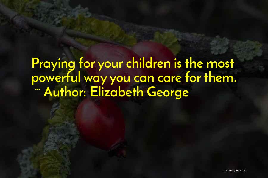 God Is Strength Quotes By Elizabeth George