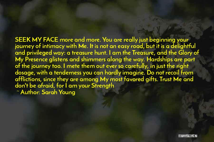 God Is Strength Quotes By Sarah Young