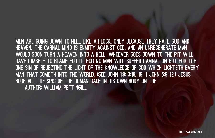 God Is The Light Of The World Quotes By William Pettingill