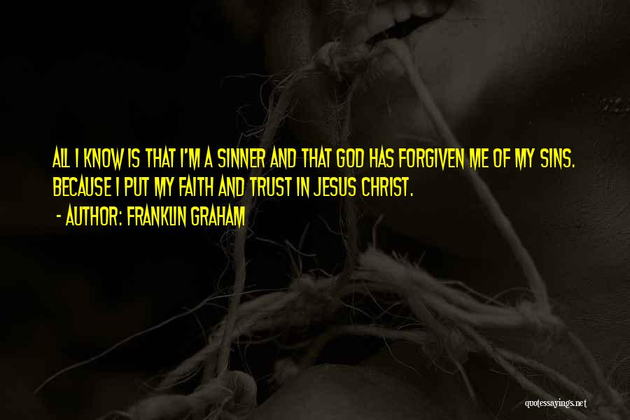 God Know Me Quotes By Franklin Graham