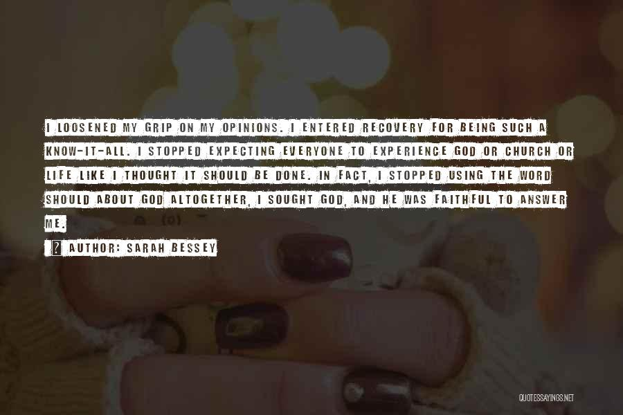God Know Me Quotes By Sarah Bessey