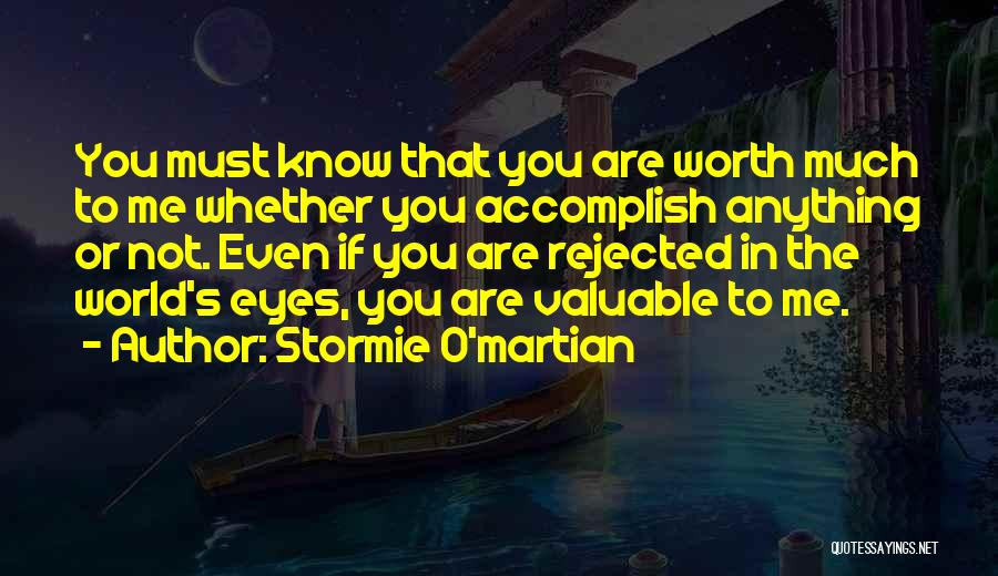 God Know Me Quotes By Stormie O'martian
