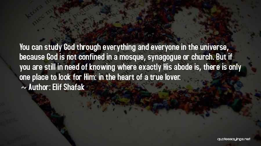 God Knowing Your Heart Quotes By Elif Shafak