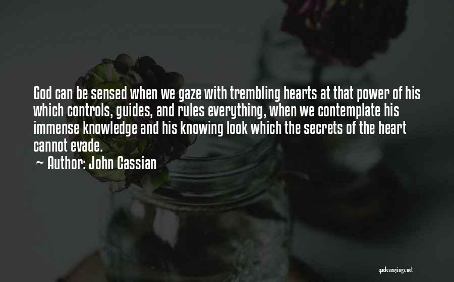 God Knowing Your Heart Quotes By John Cassian