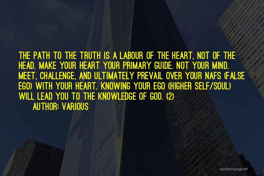 God Knowing Your Heart Quotes By Various