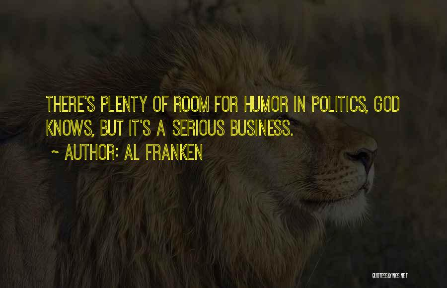 God Knows The Best For Us Quotes By Al Franken