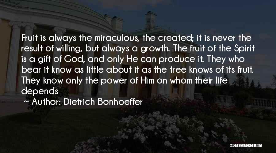 God Knows The Best For Us Quotes By Dietrich Bonhoeffer