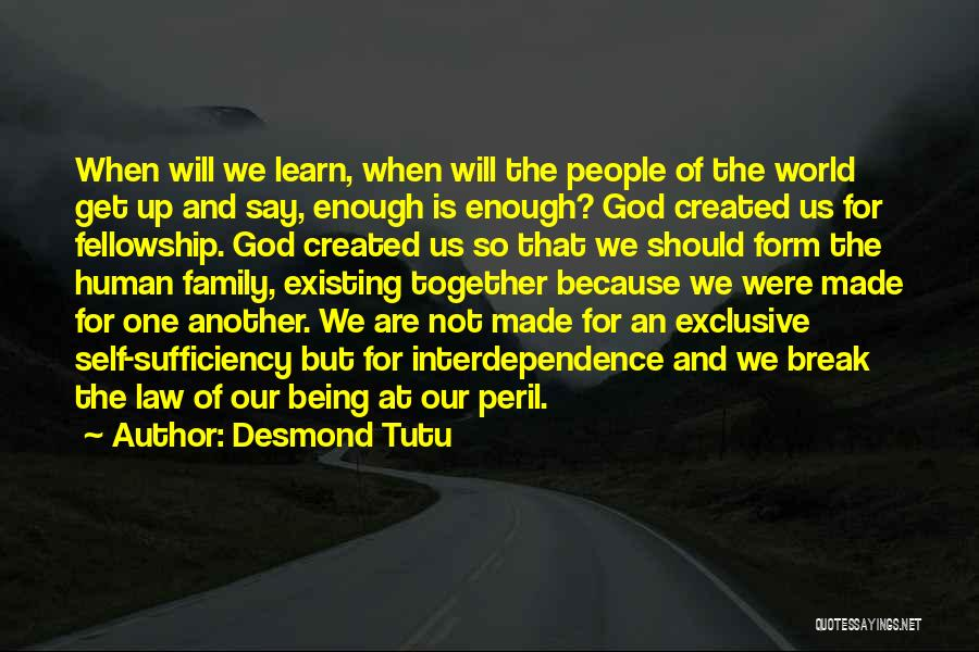 God Not Existing Quotes By Desmond Tutu