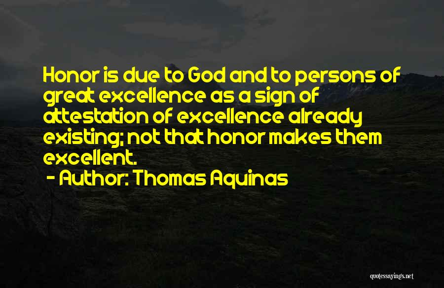 God Not Existing Quotes By Thomas Aquinas