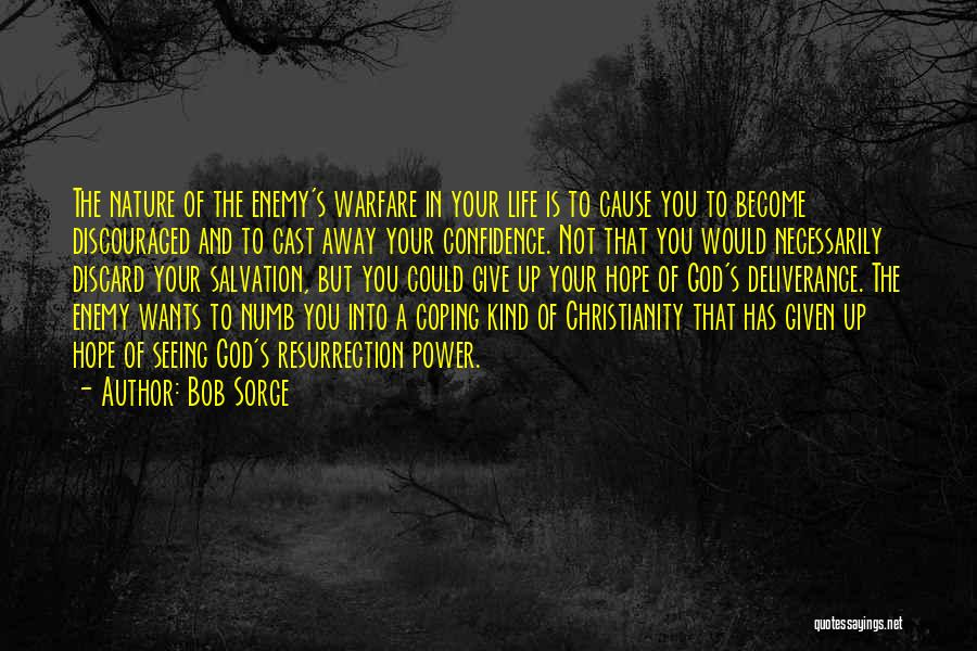God Not Giving Up Quotes By Bob Sorge
