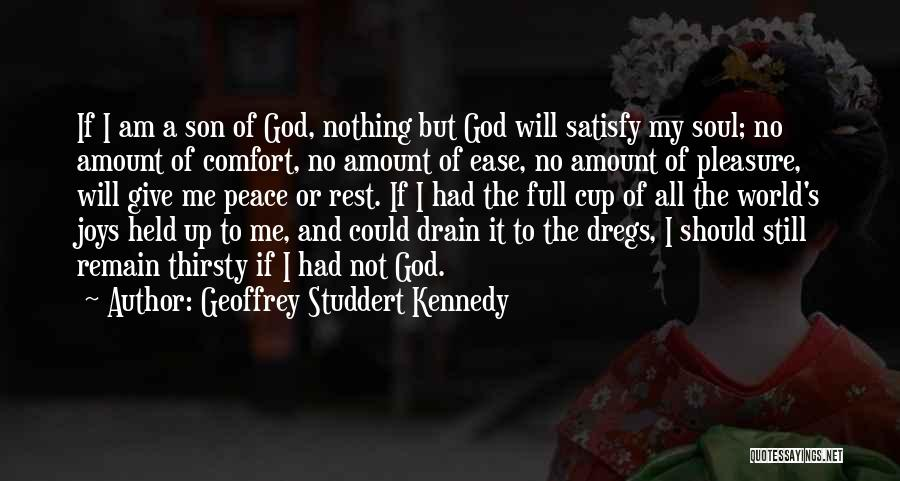 God Not Giving Up Quotes By Geoffrey Studdert Kennedy