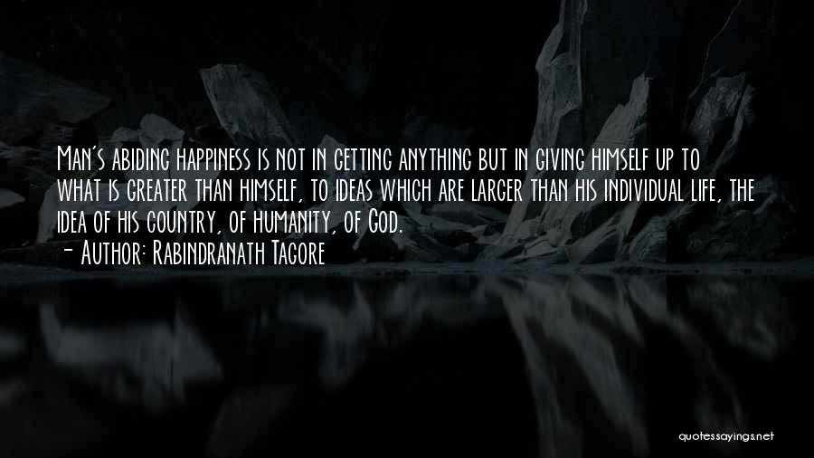 God Not Giving Up Quotes By Rabindranath Tagore