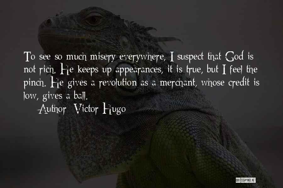 God Not Giving Up Quotes By Victor Hugo