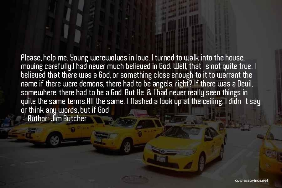 God Not Listening Quotes By Jim Butcher