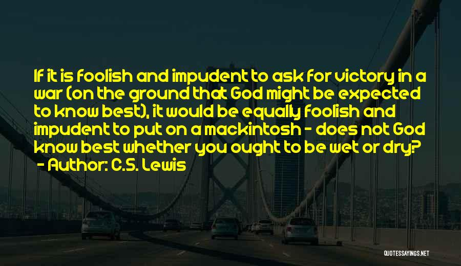 God Of War 4 Quotes By C.S. Lewis