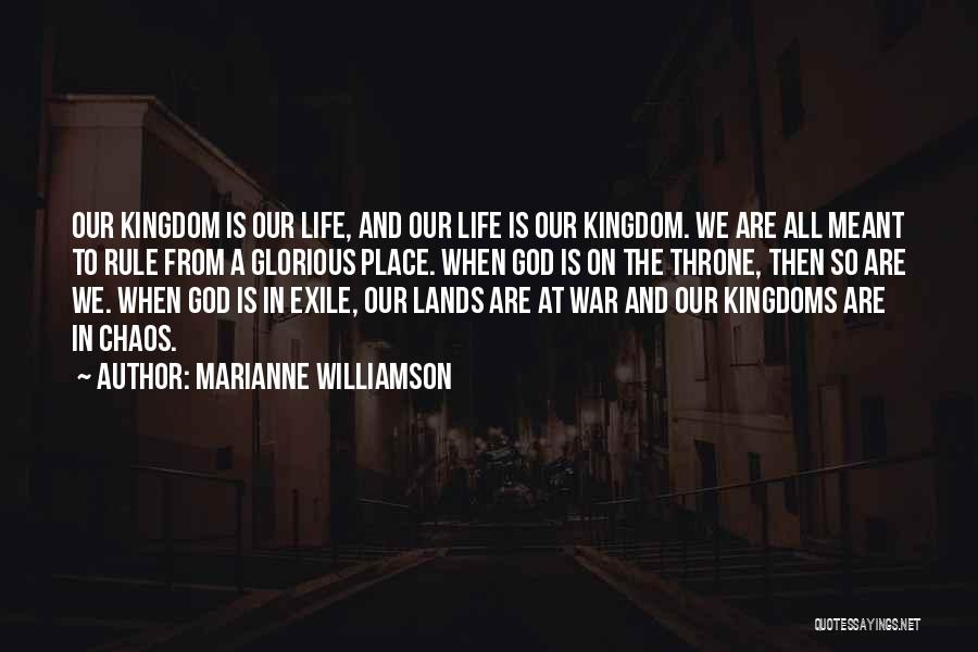 God Of War 4 Quotes By Marianne Williamson