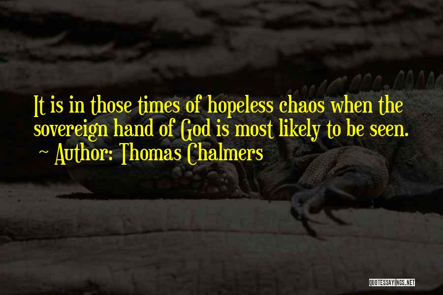 God Of War 4 Quotes By Thomas Chalmers