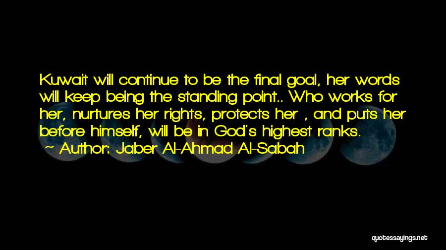 God Protects His Own Quotes By Jaber Al-Ahmad Al-Sabah