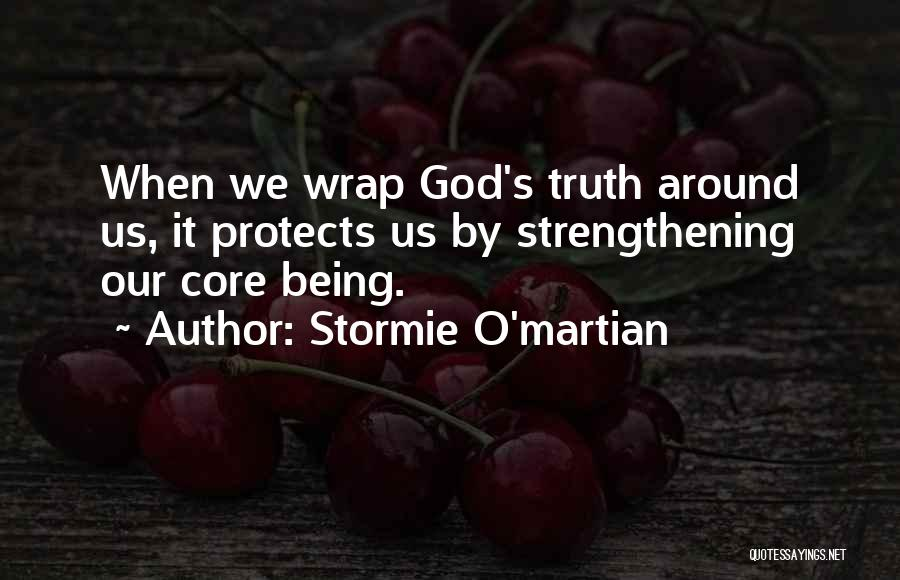 God Protects His Own Quotes By Stormie O'martian