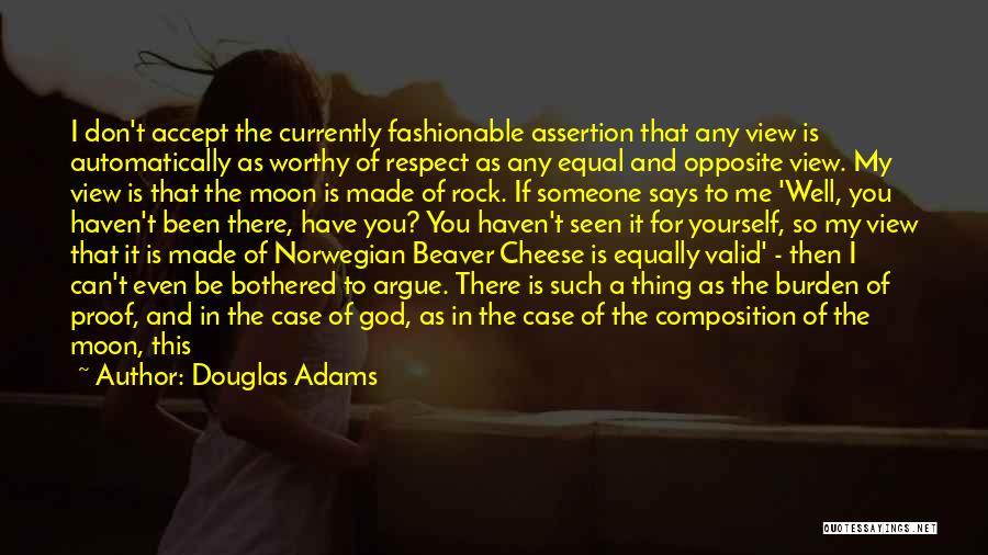 God Says No Quotes By Douglas Adams