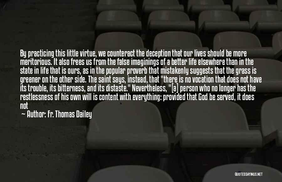 God Says No Quotes By Fr. Thomas Dailey