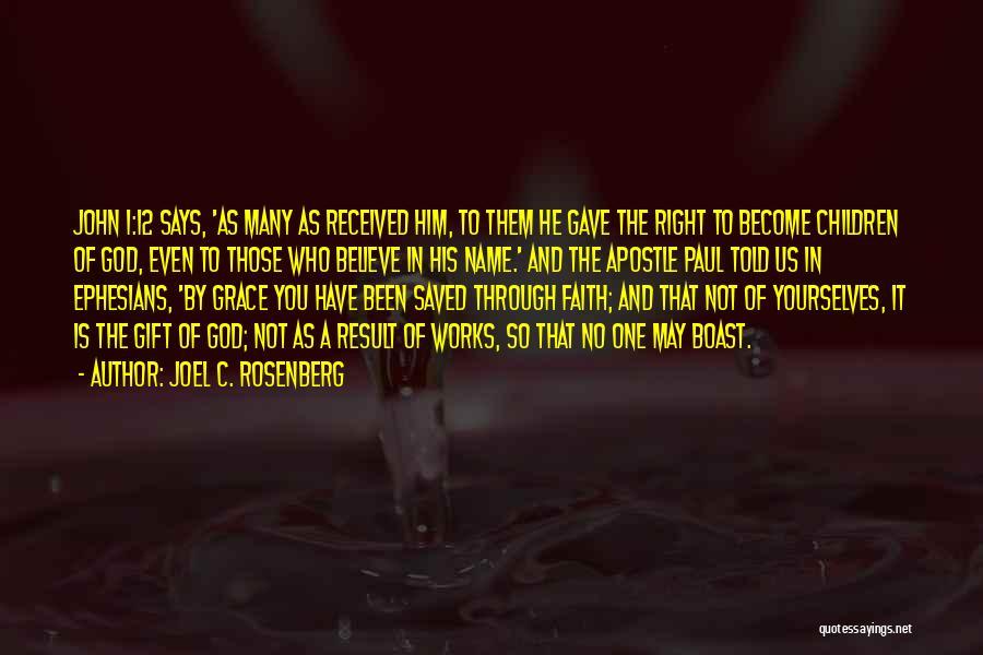 God Says No Quotes By Joel C. Rosenberg
