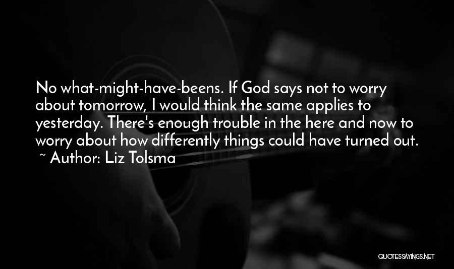 God Says No Quotes By Liz Tolsma