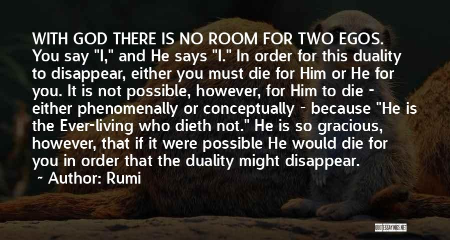 God Says No Quotes By Rumi